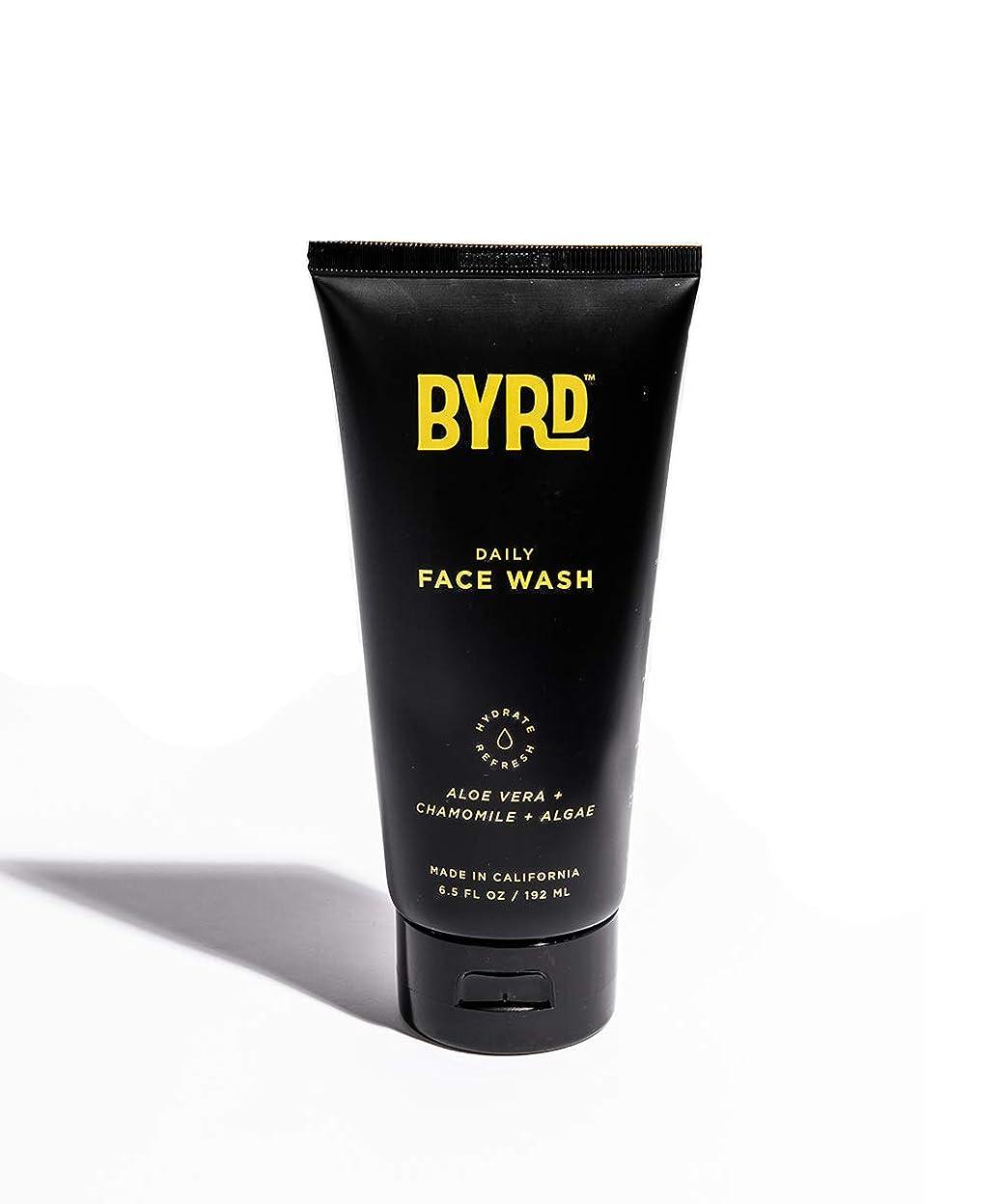 寛容なチラチラする負担BYRD/フェイスウォッシュ メンズコスメ 洗顔 天然成分 スッキリ さっぱり