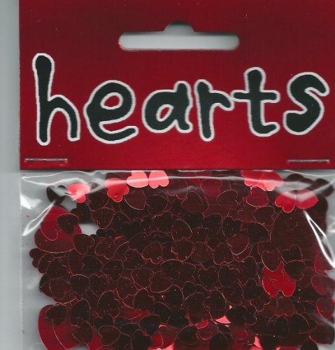 Coeurs de confettis de Tableau