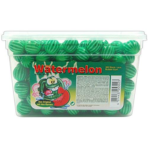 Fizzy Fruits Watermelon Bubble Gum 300er 1,5kg