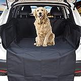 WeFine Telo Auto per Cani, 185 x 105 x 33CM Copertura Universale per Bagagliaio Protezione Portabagagli Copri Baule Auto per Cani Tappetino Protezione Tappeto Auto
