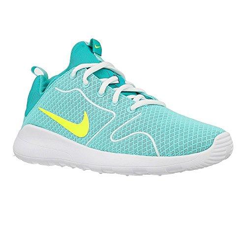Nike Damen Kaishi 2.0 (GS) Laufschuhe, Turquesa (Hyper Turq/Volt-Clear Jade-White), 38.5 EU