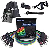 TheFitLife Exercise and Resistance Bands Set - Stackable up to 150 lbs Workout