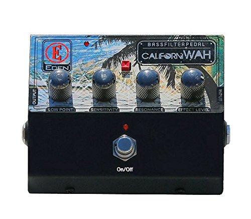 EDEN Californiwah Auto Wah FX Electric Bass Guitar Effects Pedal