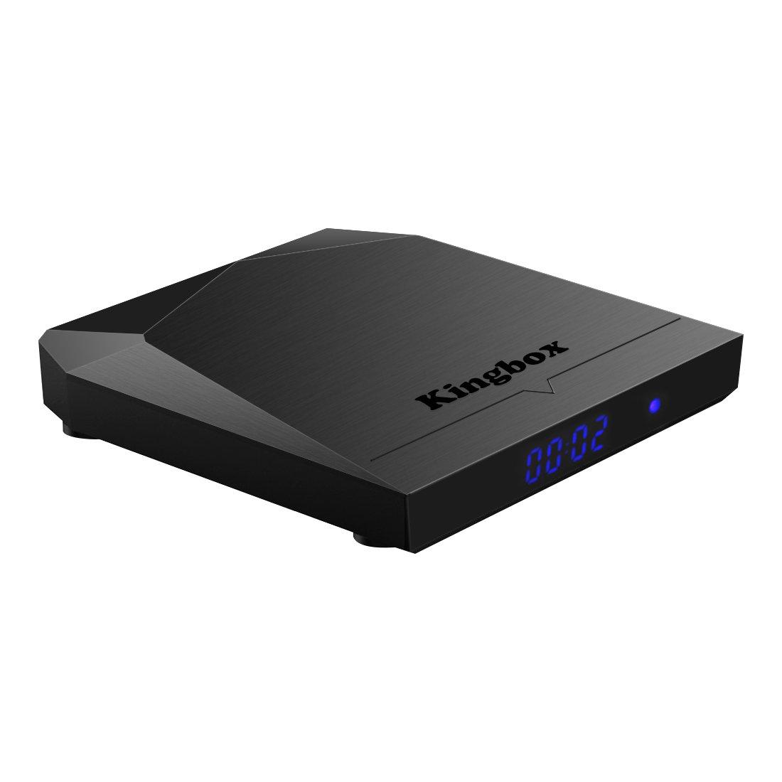 Versión Pura] Kingbox K3 Android TV Box Octa-Core cortex-A53 2GB RAM+16GB ROM LAN 1000M Dual-WIFI 2.4Ghz/5.0Ghz Smart tv box.: Amazon.es: Electrónica
