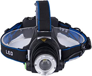 Nosterappou Strong light charging head-mounted headlight, optical frog eye lens, clear and pure light, concentrated light collection, lamp head detachable design, super bright long-range led light out