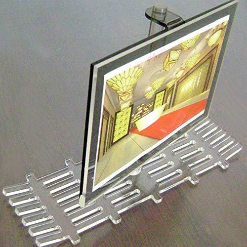 Shangfu Decoration Gift Practical Crystal Wall-mounted Photo Frame Acrylic Photo Frame Acrylic Creative Craft DIY