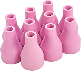 Utoolmart Ceramic Shield Cup Nozzles for QQ150 Consumable for Argon Arc Welding Torch Cutter Torch Kit 10pcs