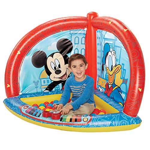 Mickey Mouse Kids Ball Pit with 50 Balls and Music Feature