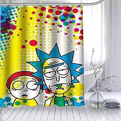 Para el living, el cuarto o el baño! Rick y Morty siempre..