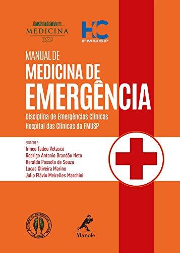 Manual de medicina de emergência: disciplina de emergências clínicas - Hospital das Clínicas da FMUSP