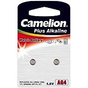 Camelion Premium Alkaline Uhrenbatterie AG4 / LR626 / 377 2er-Blister