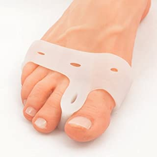 Sponsored Ad - Bunion Corrector Toe Spacer - Bunion Toe Straightener, Spreader, Stretcher and Separator for Bunion Pain Re...