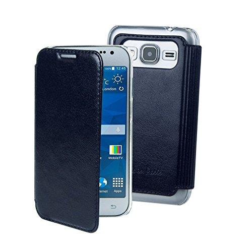 /Samsung Galaxy Core Prime couleur durable Pull Tab Pochettes avec rabat magn/étique Digi Pig/