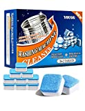 28PCS YOUGG Washing Machine Cleaner effervescent Tablets, Finally Fresh Washing Machine Cleaning, Deeply Clean The Dirt in The Washing Machine Sink, for Front-Loading and top-Loading Washing Machines