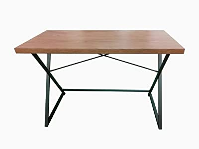 Marque Amazon -Movian Peter Desk Square Tube:30 * 15 * 1.0mm; Hollow Board with Melamine Veneer:1152 * 552 * 35mm
