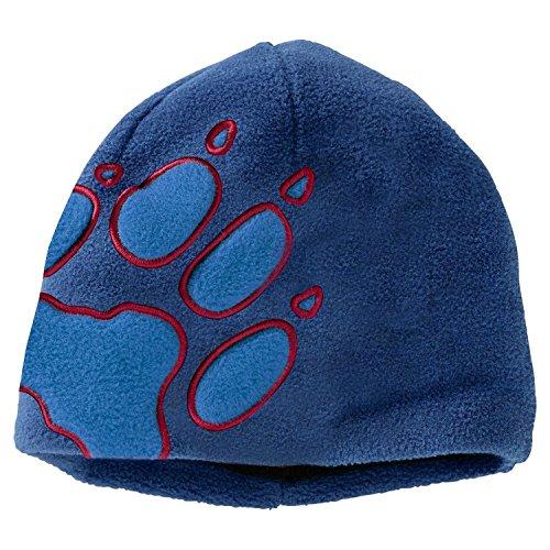 Jack Wolfskin Unisex-Kinder Front Paw Hat Kids Hut, Royal Blue, Taille Unique (49-55 Centimeters)