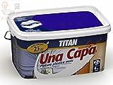 Titan M125533 - Pintura plastica monocapa mate de 2 5 l morado