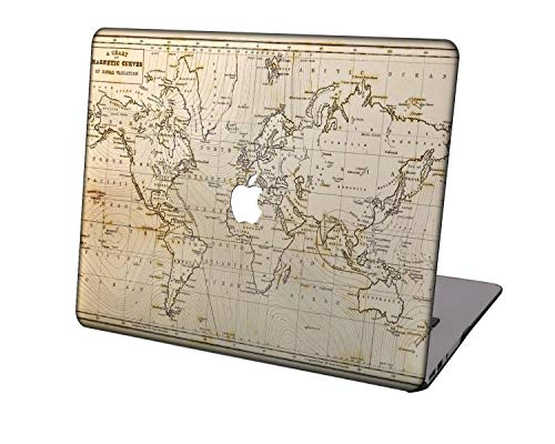 Laptop Case for New MacBook Pro 13 inch A2289/A2251/A2159/A1989/A1706/A1708,Neo-wows Plastic Ultra Slim Light Hard Shell Cover Compatible MacBook Pro 13 inch,Geography 93