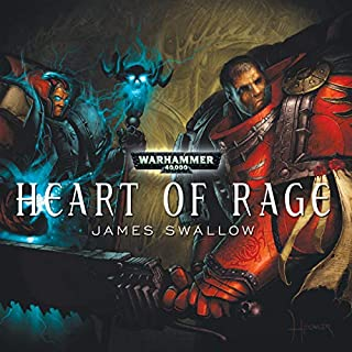 Heart of Rage audiobook cover art