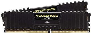 Corsair CMK16GX4M2Z2400C16 Vengeance LPX 16 GB (2 x 8 GB) DDR4 2400 MHz C16 XMP 2.0 High Performance Desktop Memory Kit fo...