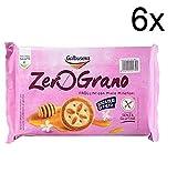 6x Galbusera zero grano Kekse mit Blütenhonig ohne Glutenfrei 240g kuchen