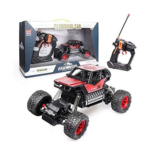 ZAKRLYB 1:18 Escala 4WD 2.4GHZ Off Road Car Rock Crawler Carro de control remoto Coches electrónicos RC Monster Truck Ll Terreno Carreras de velocidad Competición deportiva Coche de juguete for adulto