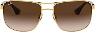 Ray-Ban Men's 0RB3533 Square Sunglasses