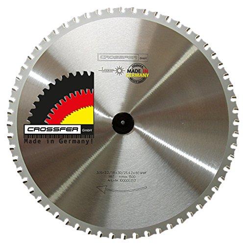 Hoja de sierra circular de metal 305 x 25.4 Z60 WWF dentado...