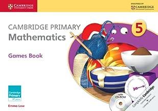 كتاب ألعاب Cambridge Primary Mathematics Stage 5 مع قرص مدمج (Cambridge Primary Maths)