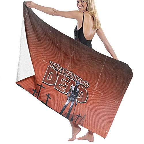 Toalla de baño Walking Dead (toalla de baño, súper suave, de secado rápido y muy absorbente, 32 x 52 pulgadas, toallas de baño accesorios toalla de piscina.
