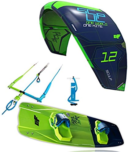 Crazyfly Le Kitesurf 2018Sculp 13m Kite & Raptor 137x 43Board Package, vert, 13