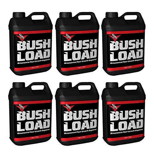 NEW IMPROVED FORMULA Bush Load Fertilizer General Hydroponics (2, 3, or 6 Quarts) (6)