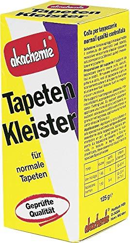 Pufas akachemie - Tapetenkleister (125 g transparent ausreichend für ca. 30 - 35 m²)