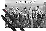 1art1 Friends Poster (91x61 cm) Lunch On A Skyscraper