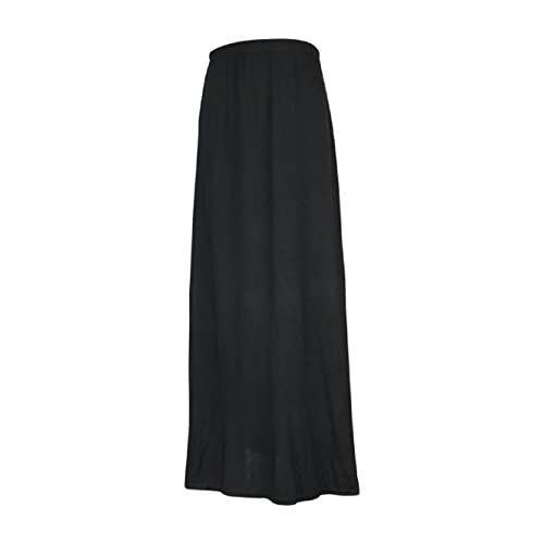 cedeced14f Ozmoint Girls Kids Child Long Maxi Skirt Elasticated Waist Modest Abaya  Stretch Skirts(13 Colours