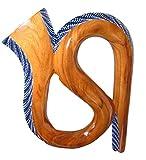 Pintado a mano Suar curvado Didgeridoo Travel Novelty