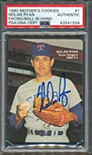 1990 Mother's Cookies #1 Nolan Ryan PSA/DNA Certified Authentic Autographed Signed 1559