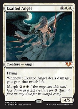 Magic: the Gathering - Exalted Angel - From the Vault: Angels - Foil by Magic: the Gathering