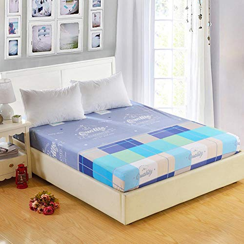 CTOBB 1 PC 100% polyester blad matrashoes bedlakens druk hoeslaken Four Corners met elastisch