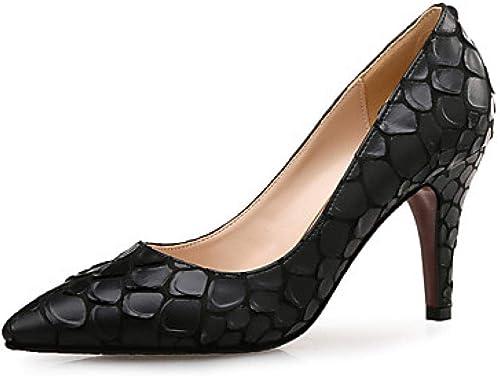 Weier. Ben damen s PU (Polyurethane) Spring & Summer Sweet Heels Tacón de Aguja schwarz@schwarz_US8   EU39   UK6   CN39