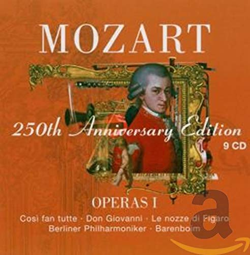 Operas I: Cosi fan tutte, Don Giovanni, Le nozze di Figaro (GA)
