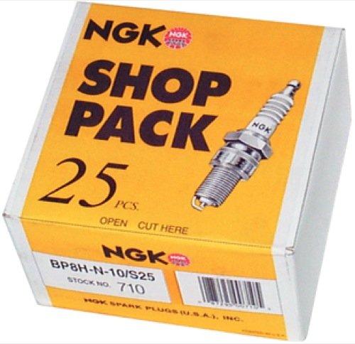 NGK Bujías N/A 750 Bujías B8HS- 10, (Paquete de 25)
