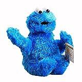 Peluche 31cm Barrio Sésamo Juguetes De Peluche Elmo Cookie Monster Muñecos De Peluche Lindo Animal De Dibujos Animados Suave Peluche para Niños Regalos De Cumpleaños