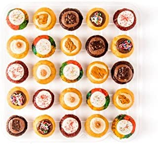Baked by Melissa Cupcakes The OMGF (Oh My Gluten Free) - Assorted Bite-Size Cupcakes, 25 Count