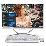 Ordinateur de Bureau Tout-en-Un i7, Core i7 10510U de 10e génération, 32G RAM 512G SSD 1TB HDD, Sortie HDMI/VGA 4K, WiFi, BT, Windows 10 Pro, Clavier et Souris sans Fil
