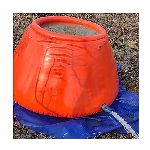 SHIJINHAO Contenedor De Almacenamiento De Agua De Gran Capacidad para Exteriores, Cubo Flexible Plegable De Arte De Pared, Bolsa De Agua Plegable, Usado para Irrigación Agrícola