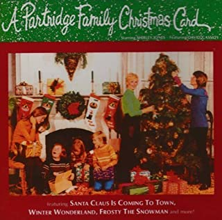 A Partridge Family Christmas Card by Partridge Family (2000) Audio CD