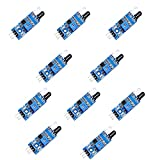 10PCS IR Infrared Obstacle Avoidance Sensor Module for Arduino Smart Car Robot
