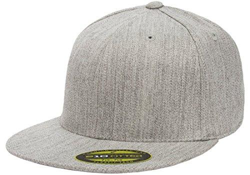 Flexfit Premium 210 Fitted Flat Brim Baseball Hat w/THP No