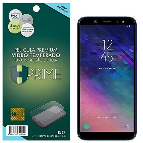 Película de Vidro Temperado 9H para Samsung Galaxy A6 Plus 2018, HPrime, Transparente